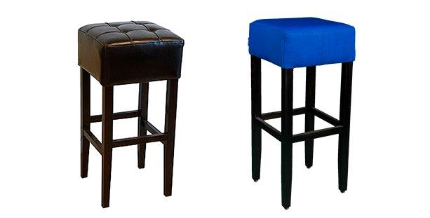 Barske stolice bez naslona - Detal Nameštaj