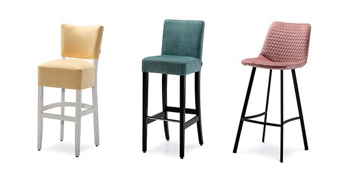 Barske stolice sa naslonom - Detal Nameštaj