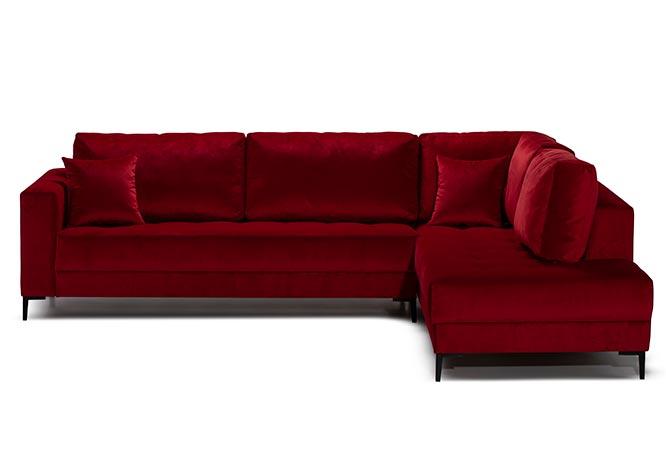 Ugaona Garnitura Sofa - Detal Nameštaj